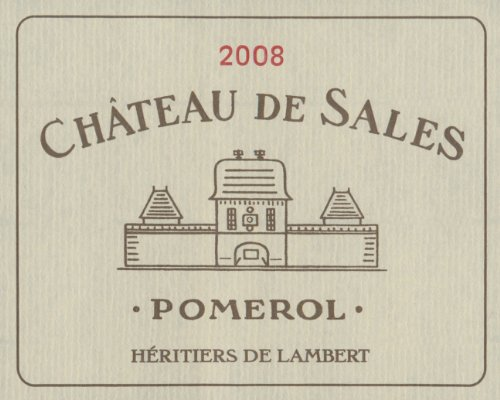 2008 Chateau De Sales Pomerol 750 Ml