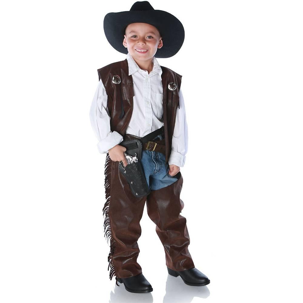 Guy Cowboy Costumes Cowboy Chaps Kids Costume