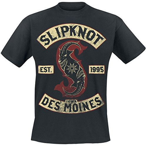 Slipknot Iowa Des Moines T-Shirt black