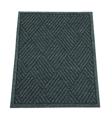 Guardian ecoguard diamond indoor wiper floor mat recycled for Decorative door mats indoor