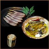三重・鳥羽浦村の牡蠣燻製オリーブオイル漬けと寒鯔(ぼら)の美味濃厚な燻製 2点セット