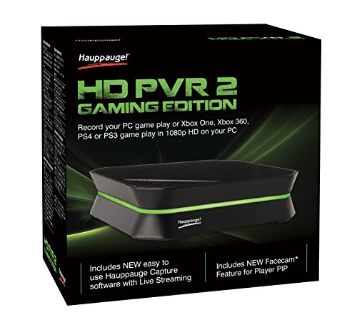 Hauppauge - HD PVR 2 Gaming Edition High Definition Game Capture Device New