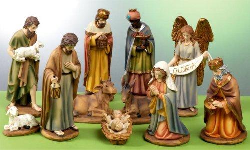 blog test test doang: Presepe natività composto da 11 statue in