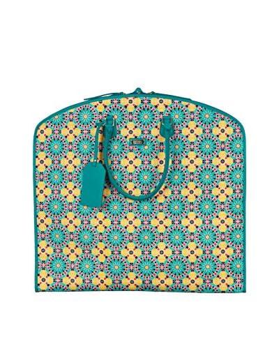 Hudson+Bleecker Women's Marrakech Wayfarer Garment Bag, Yellow/Aqua