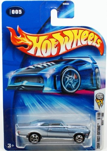 2004 First Editions #5 Nova 1968 Super Sport Tampo #2004-5 Collectible Collector Car Mattel Hot Wheels 1:64 Scale Collectible Die Cast Car