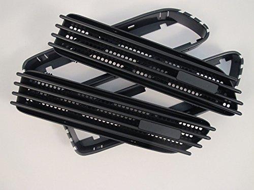 (2) Ersatz matt schwarz Seite Grill Gitter Fender Belüftungsöffnungen für BMW E4601-06