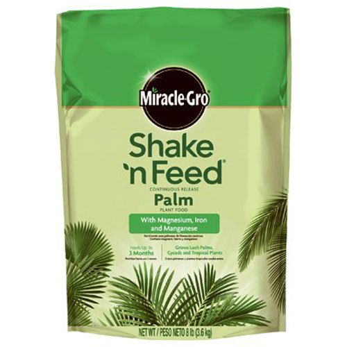 Miracle-Gro Shake 'n Feed Continuous Release Palm Plant Food, 8-Pound (Slow Release Plant Fertilizer) (Fertilizer Slow Release compare prices)