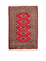 QURAMA Alfombra Kashmir Rojo/Multicolor 94 x 63 cm
