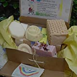 Mom and Baby HOLIDAY Twelve Piece Soap Gift Set -includes milk soaps butter, coconut and goat, oatmeal, olive oil and wonderfully scented soap for mom . ~ Natural Handcrafted...