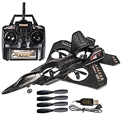 AMG Quad Copter RC Jet RC Airplane - Quad Engine 4CHANNEL RTF AIRPLANE - AMG BRAND