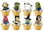 16 x Large Halloween Party Minion Min...