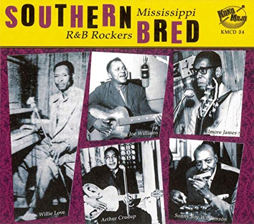 CD : VARIOUS - Southern Bred: Mississippi R&b Rockers 1