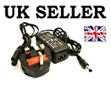 30W AC Adapter Charger for Toshiba Mini NB500-10M NB520-108 NB520-109 NB520-10H NB550D-109 NB550D-10G with UK Power Cord Included