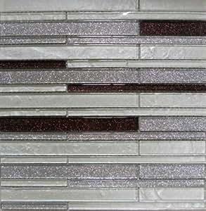 glass mosaic tile backsplash iridescent gsd828 bathroom