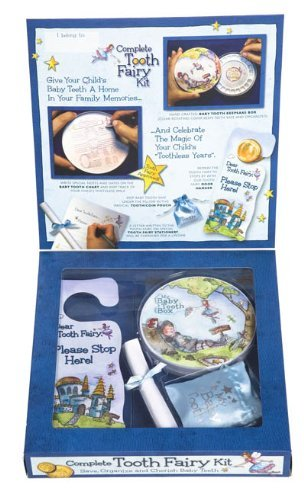 Baby Tooth Album Tooth Fairy Kit (Blue) Color: Blue Newborn, Kid, Child, Childern, Infant, Baby