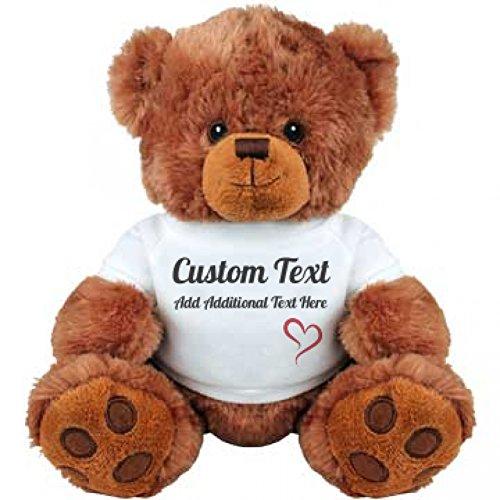 Cute Custom Teddy Bear Gift: Medium Plush Teddy Bear (Mom Teddy Bear compare prices)
