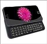 「Origin」 iPhone6 Plus スライドキーボード iPhone6 Plus Bluetooth キーボード iPhone6 Plus ジャストフィット ワイヤレスキーボード + ケース 一体型 5.5インチ専用 IP6PLUSSKB ブラック