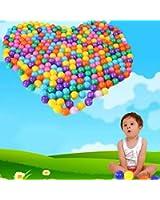 HuaYang 100 Pcs jouet de natation boule de piscine en plastique océan simulée(Random Colors)