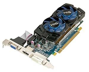 HIS Radeon HD 6670 1GB (128bit) GDDR5 HDMI DVI-D (HDCP) VGA PCI Express X16 2.1 Low Profile Graphics Cards H667FN1G