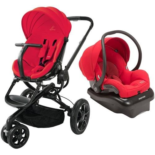 Quinny Moodd Travel System, Red Envy front-709020