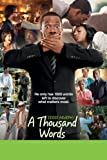 51klzX5393L. SL160  A Thousand Words   Movie Review
