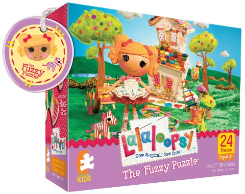 Lalaloopsy Spot Splatter Splash 24 pieces Puzzle (The fuzzy puzzle)