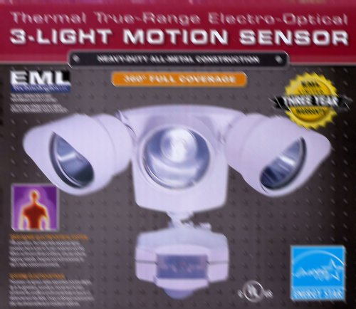 EML Technologies Thermal True-Range Electro-Optical 3-Light Motion Sensor