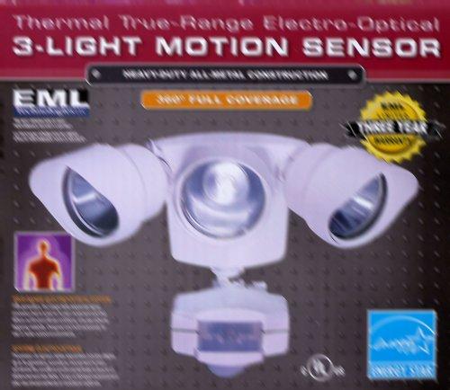 EML Technologies Thermal True-Range Electro-Optical 3-Light Motion Sensor