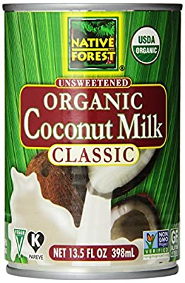 Native Forest Organic Classic Coconut Milk, 13.5-Ounce Cans