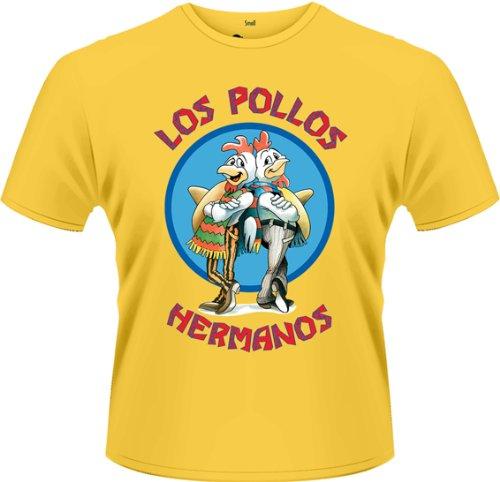 Playlogic-International-Camiseta-de-Breaking-Bad-de-manga-corta-para-hombre