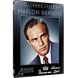 Hollywood Legends: Marlon Brando - 4 Movie Collection - The Wild One - The Freshman - One Eyed Jacks - The Chase...