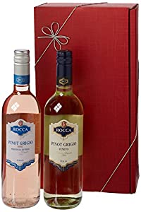 Le Bon Vin Pinot Grigio Twin Wine Gift Set 2012 75 cl (Case of 2)