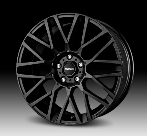 51km5kvjrTL MOMO Car Wheel Rim   Revenge   Black   18 x 8 inch   5 on 114.3