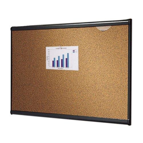 Quartet B243G Quartet Prestige Bulletin Board Graphite-Blend Cork 36 x 24 Aluminum FrameB0000AQO8G