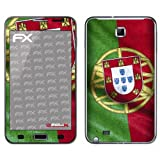 "atFoliX Fu�ball 2012 Portugal Flagge Designfolie f�r Samsung Galaxy Notevon ""Displayschutz@FoliX"""