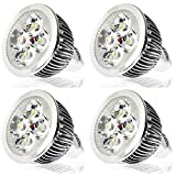 Bigapple LED Spotlight (Warm White Colour) (4 Watts) - PACK OF 4