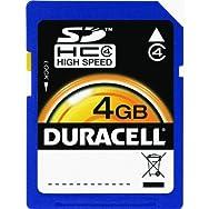 Dane-Elec DU-SD-4096-C Duracell SD Memory Card-4GB SDHC MEMORY CARD