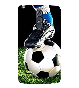 FOOTBALL THE GREATEST SPORT OF ALL TIME 3D Hard Polycarbonate Designer Back Case Cover for LG G3 Stylus :: LG G3 Stylus D690N :: LG G3 Stylus D690