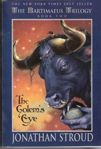Cover of Bartimeaus Trilogy: The Golem's Eye - Book #2 (Bartimaeus Trilogy)