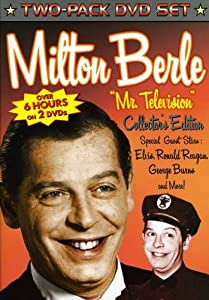 """Milton Berle """"Mr Television"""" Collector's Edition (Two-pack DVD Set) from Diamond Entertainment"""