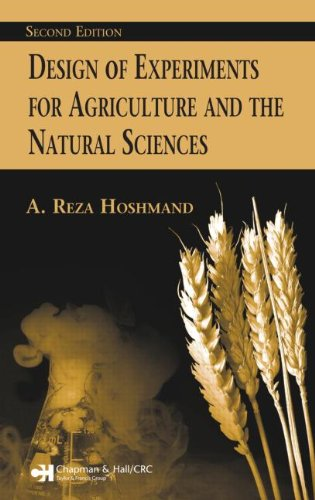 Design Of Experiments For Agriculture And The Natural Sciences Second Edition