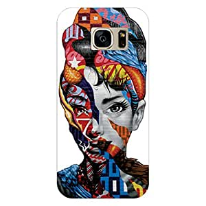 RD Digital Printed Designer Back Cover for Samsung Galaxy S7 (Multi-color)