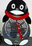 Himalayan Breeze Large Decorative Penguin Fan