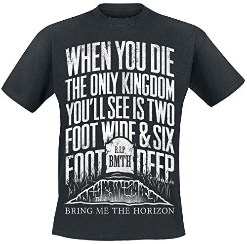 Bring Me The Horizon Grave T-Shirt nero M