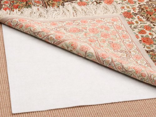 Premium-Hold Rug Pad 9' x 12' - For Rug-To-Carpet & Hard Surfaces, Extends Rug Life
