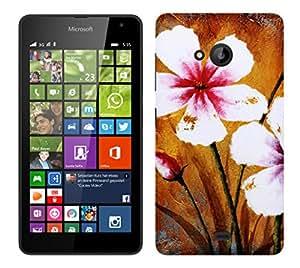 TrilMil Printed Designer Mobile Case Back Cover For Nokia Microsoft Lumia 535