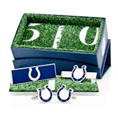 Indianapolis Colts 3-Piece Gift Set by Cufflinks