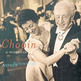 Rubinstein Collection, Vol. 50: Chopin: 51 Mazurkas
