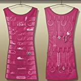 Innovvez Creations Little Black Dress Jewellery Hangar - Pink