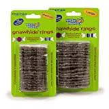 Premier Busy Buddy Gnawhide Refill Ring Dog Treats for Bristle and/or Bouncy Bones, Rawhide, Medium